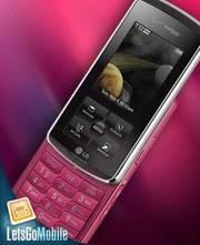 Pink LG Venus phone - TELUS network unlocked