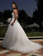 Strapless Casablanca Bridal Gown - Size 4 $750 OBO
