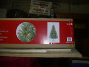 BNIB 6 CHRISTMAS TREES WITH STANDS. $35. EACH.  (RETAIL 99-149)